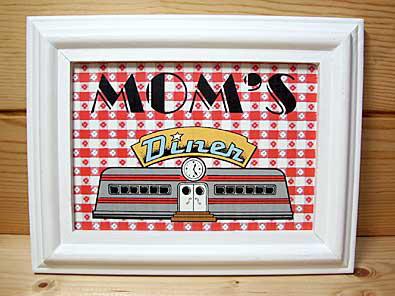 フレーム(Mom's Diner)