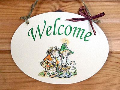 boy&girl welcome