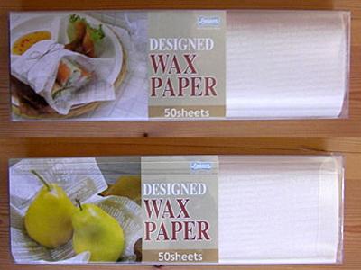 Waxペーパー(ホワイト)